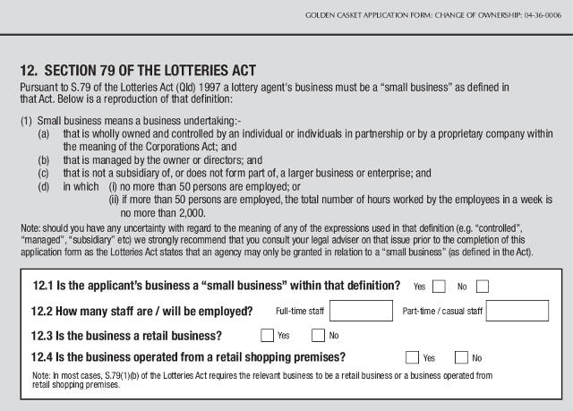 lottieres act section 79